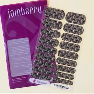 Jamberry Victorian Lace Nail Wraps Full Sheet